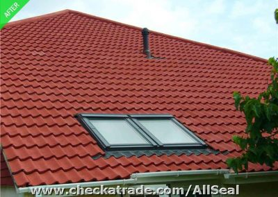29-9-after-side-elevation-of-same-property-in-rustic-red-clima-shield-roof-coating-and-new