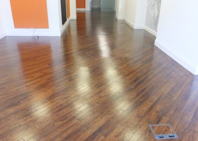 Vinyl Floor Sealed