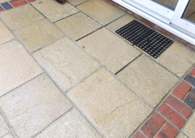 Patio Slabs After