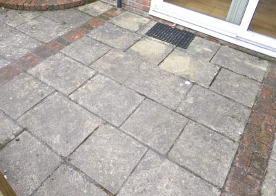 Patio Slabs Before